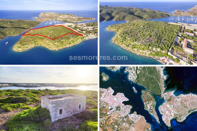 Exceptional property integrated on the island of Lazareto that enjoys the best views of Mahón harbour.