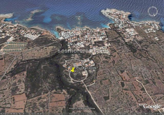 1384 sq m on a  plot size, qualified urban (building land), building land, surface level, sea view.