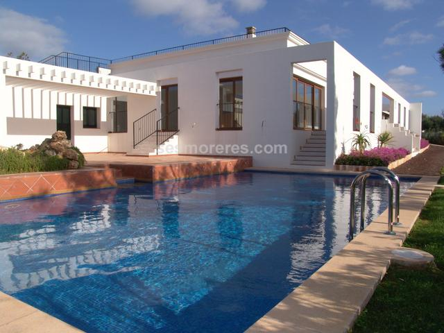 Designer villa for sale in Cap d'en Font, Sant Lluis, Menorca.