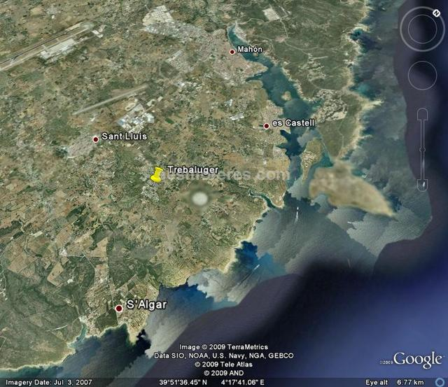 Urban Estate for sale  in Menorca. 905 m² with permission for  25% of the land.