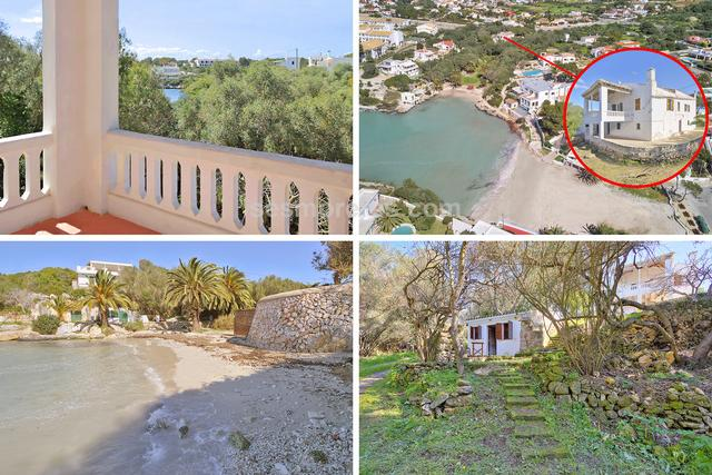 This charming old country house conserves all its original features, creating a nostalgic and warm atmosphere, surrounded by abundant vegetation and immersed among pine trees and wild olive trees. It is located in a unique place with direct access only 200m. from the beach of Santandría, on a plot of 2,300 m2. The house seen from the beach is in an elevated position and seems to be lost in the forest that surrounds it. The house is distributed on 2 floors, completely independent with its own kitchen and large south facing terrace, with a total of 9 bedrooms and 4 bathrooms. Immersed in the greenery there is a small studio with a bedroom / living room, kitchen and terrace. An old water wheel and its pond complete the beauty of this unique place. The property will benefit from a renovation, and has many possibilities to turn it into a great house in an idyllic setting.